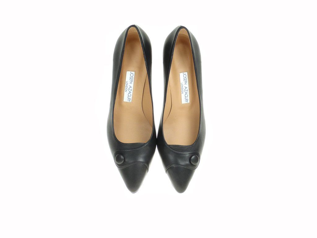 Joseph Azagury Olivia Black Nappa Shoes