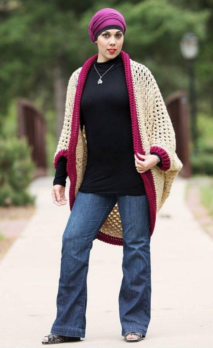 Crochet Cocoon Shrug Pattern - Lots Of Ideas | Ganchillo, Patrones y ...