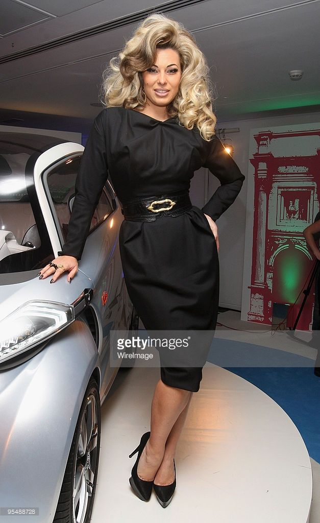 Immodesty Blaize Attends The Launch Of The Peugeot Bb1 Concept Car
