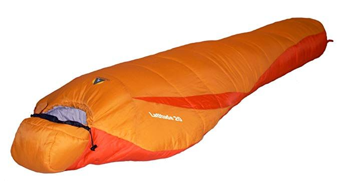 Alpinizmo High Peak Usa Latitude 20 Sleeping Bag Orange