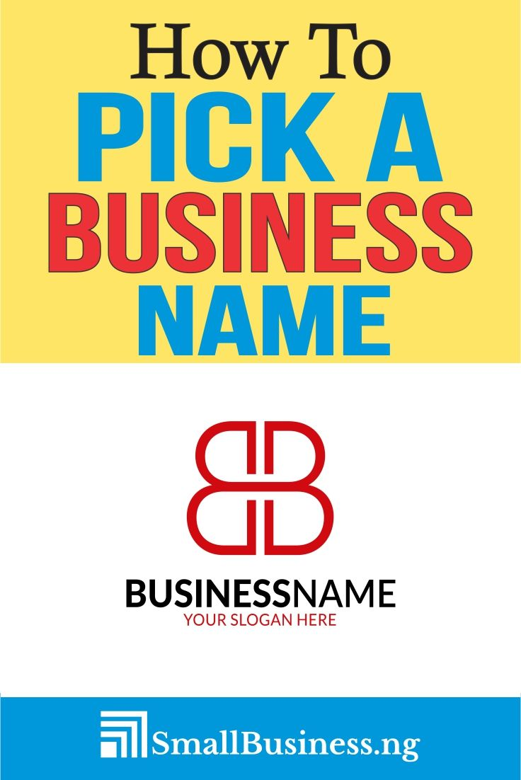 How To Come Up With A Business Name Unique business