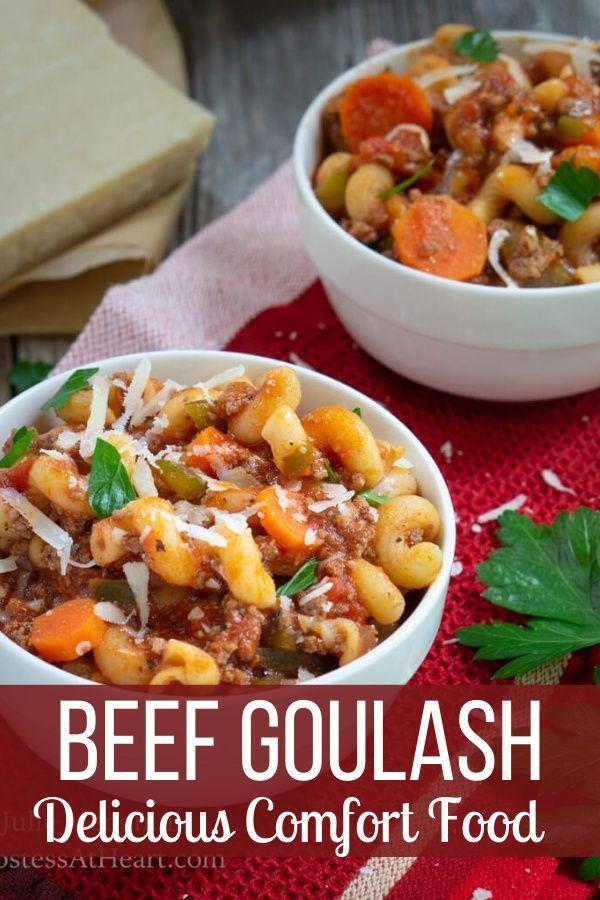 Italian Ground Beef Goulash Recipe In 2020 Main Dish Recipes Goulash Recipes Beef Goulash