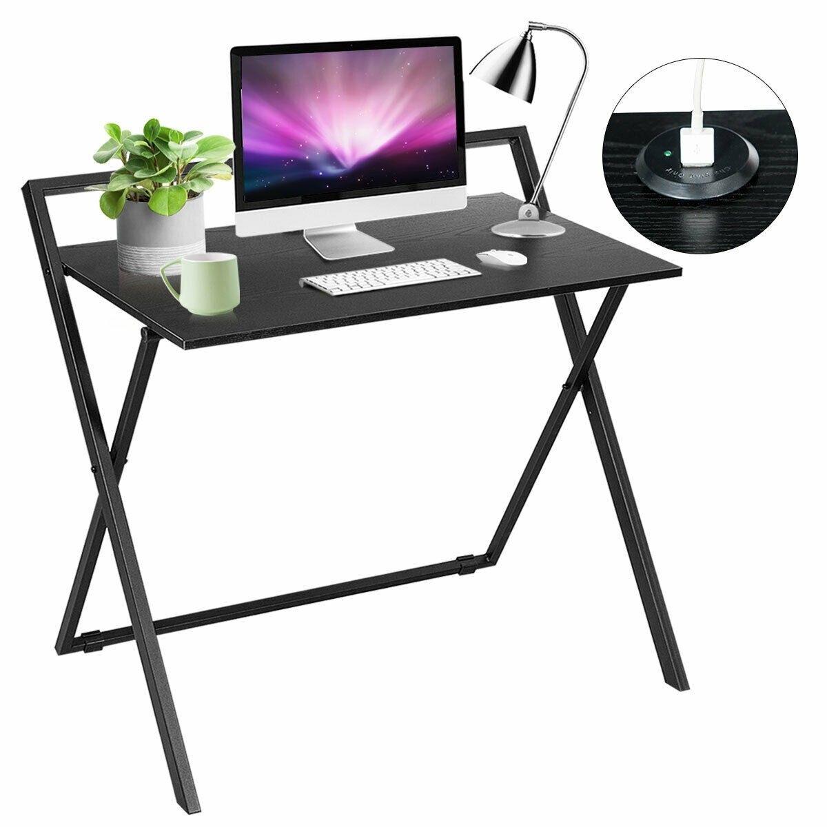 Folding Simple Pc Laptop Writing Table Computer Desk 85 95 Free
