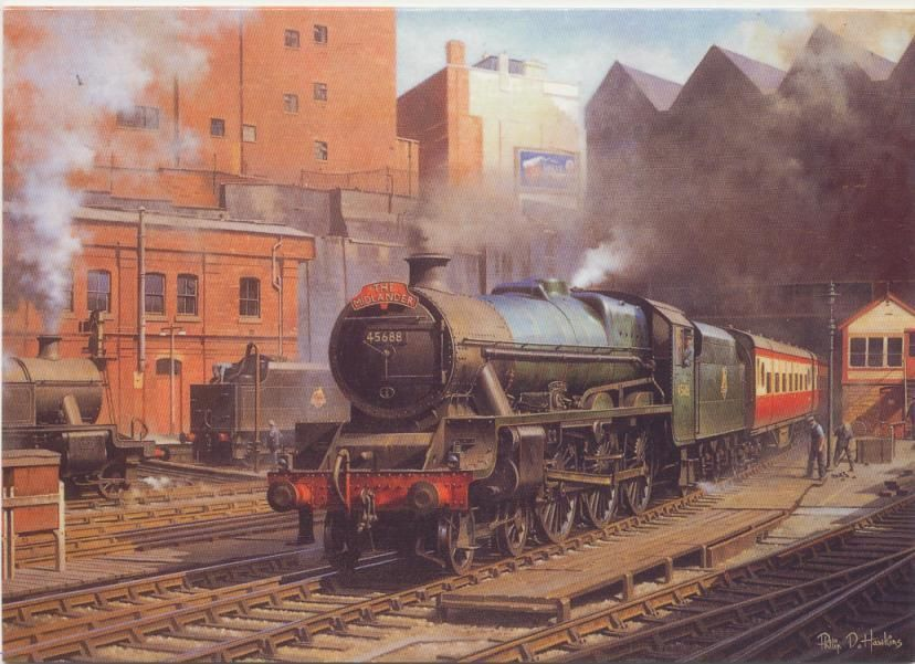 1 5 Gbp Lms Br Jubilee Railway Engine Locomotive Steam Train