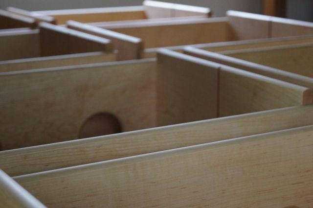 家具工房 カルラ  -carula furniture- : 画板ボックスと小さなベンチ
