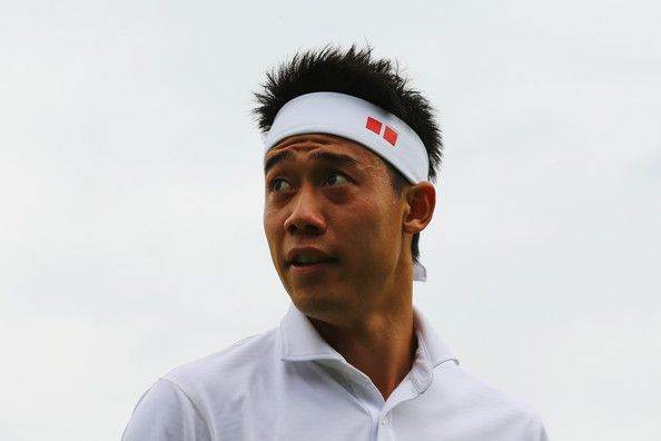 Kei Nishikori Photos - Wimbledon: Day 4 - Zimbio