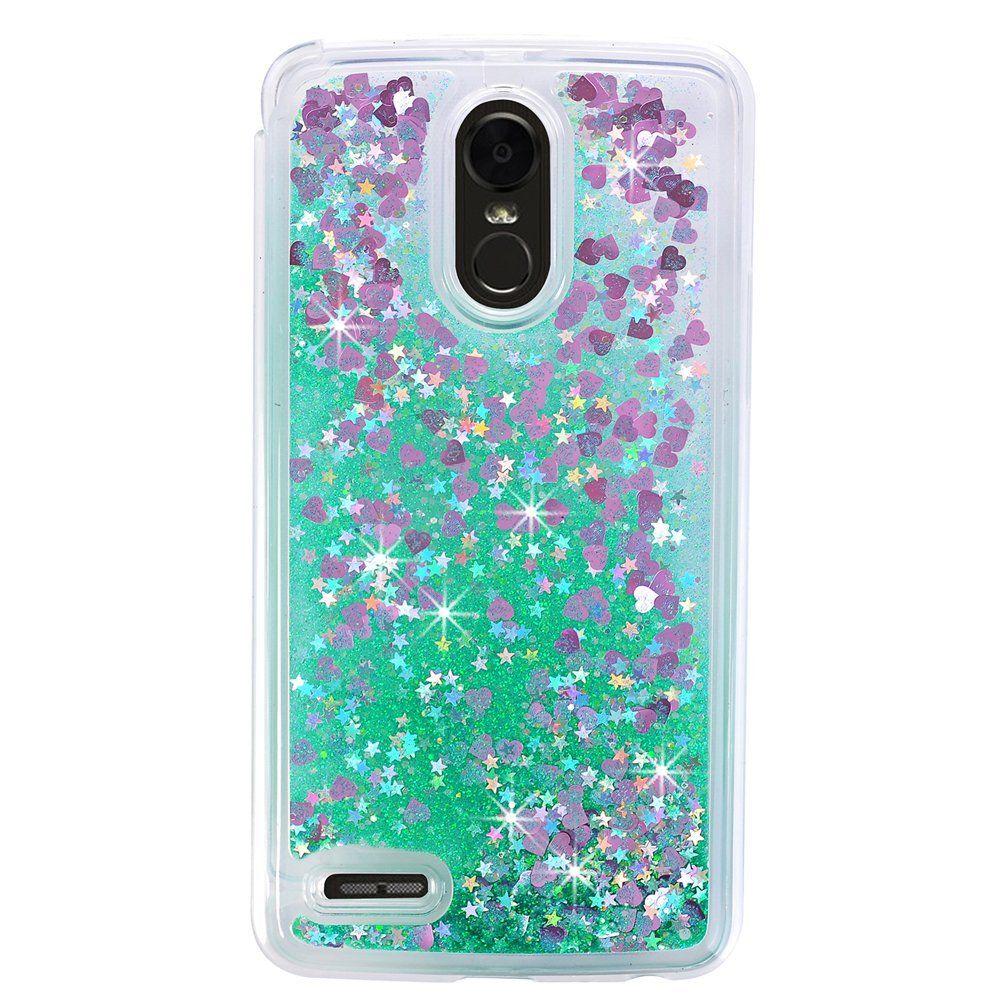 quality design 4e88e c3e48 Amazon.com: LG Stylo 3 Case, LG Stylo 3 Plus Liquid Case, KAMII 3D ...