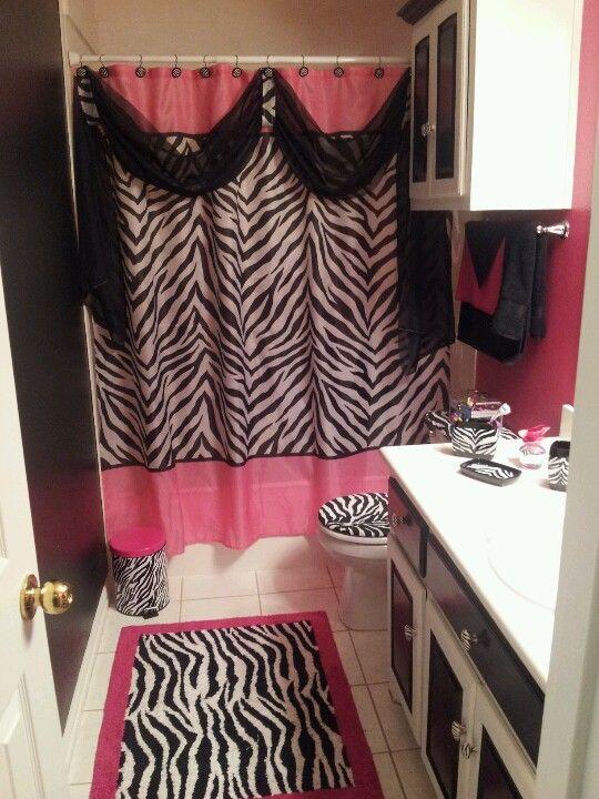 Beautiful Zebra Print Bathroom Ideas Good Looking
