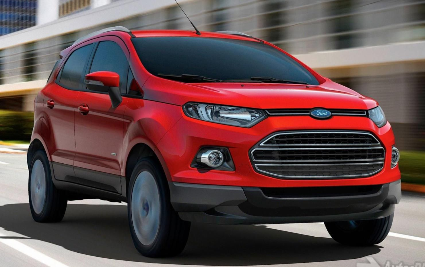 Ford EcoSport Photos and Specs. Photo Ford EcoSport