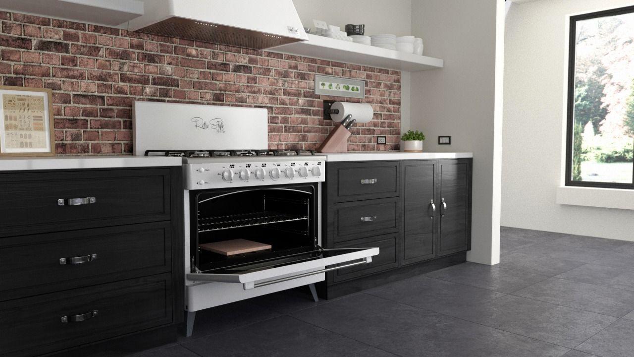 Cocina Luxor Gas Retro Style Kitchen Kitchen Cabinets Home Decor