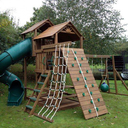 CREATIVE PLAYTHINGS 2.72M PINNICOLE ROCK WALL - ONLY £299 ...