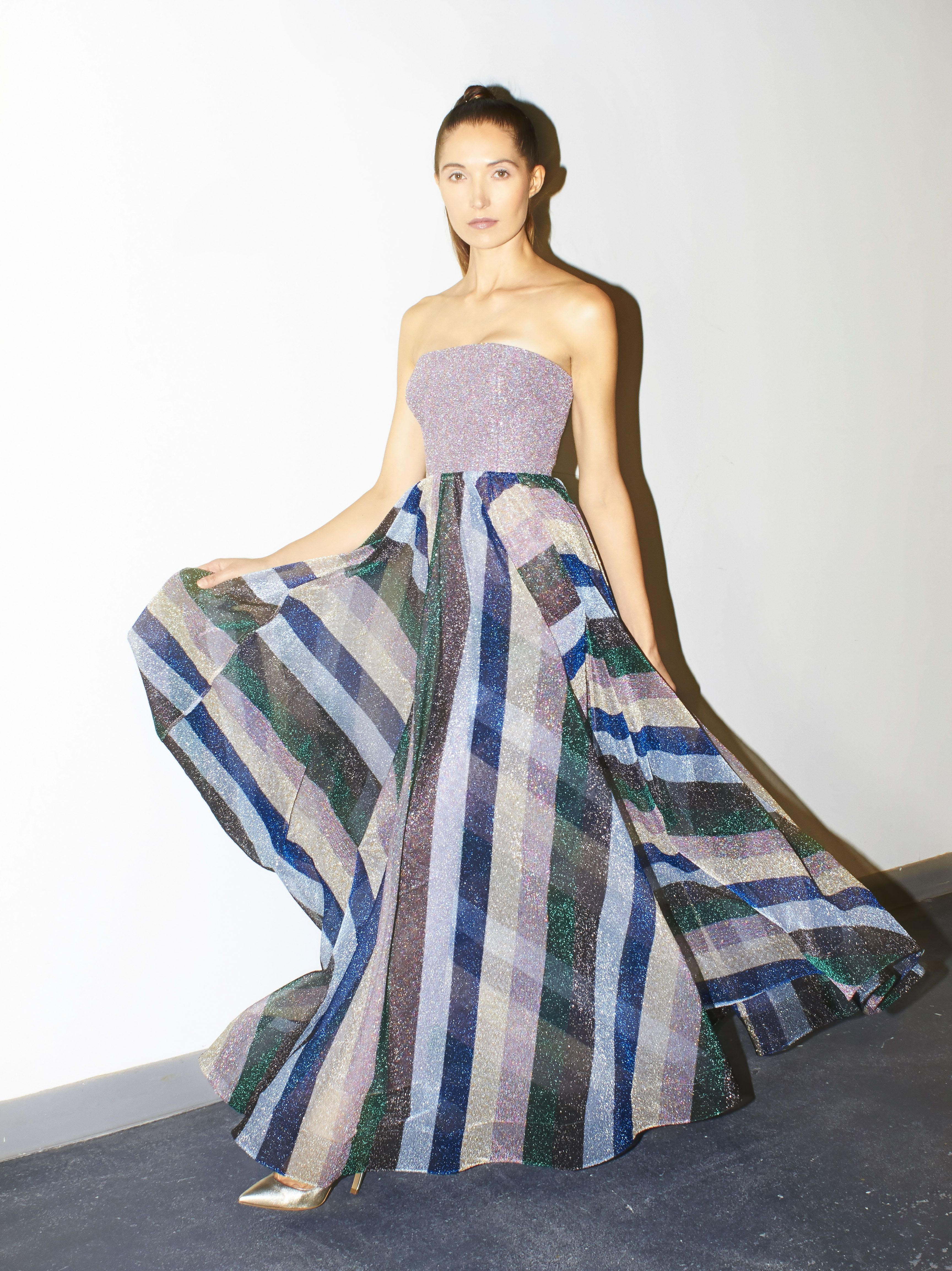 61cdb570d Evening gown from Missoni available at Shari's Place. Photo by Timothy  Hutto.