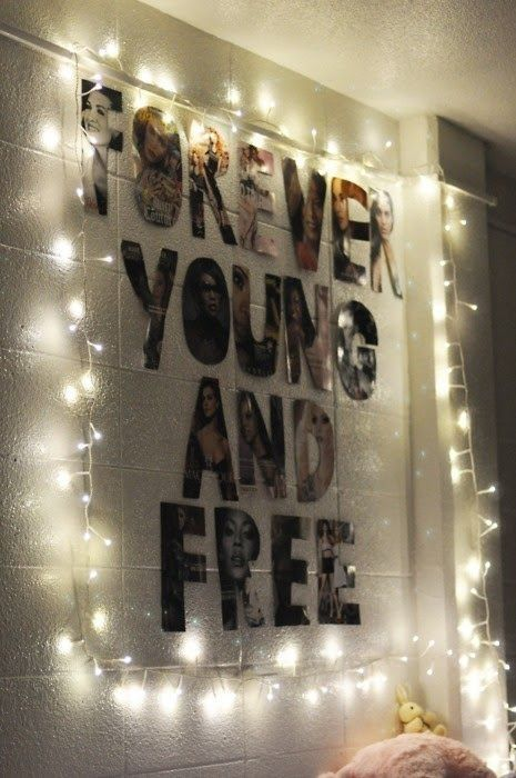 16. DIY Wall #Decor - 34 DIY Dorm Room Decor Projects to #Spice up Your Room ... → DIY #Picture