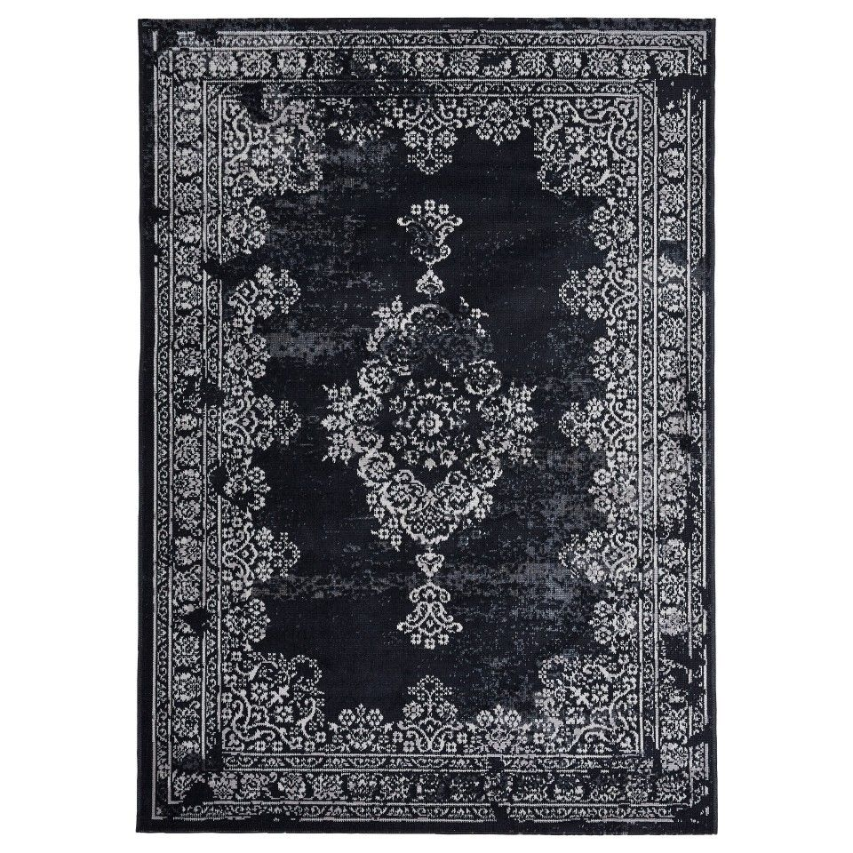 Teppiche V Teppich Vintage 160x230 Anthrazit Teppiche Rugs Area Rugs
