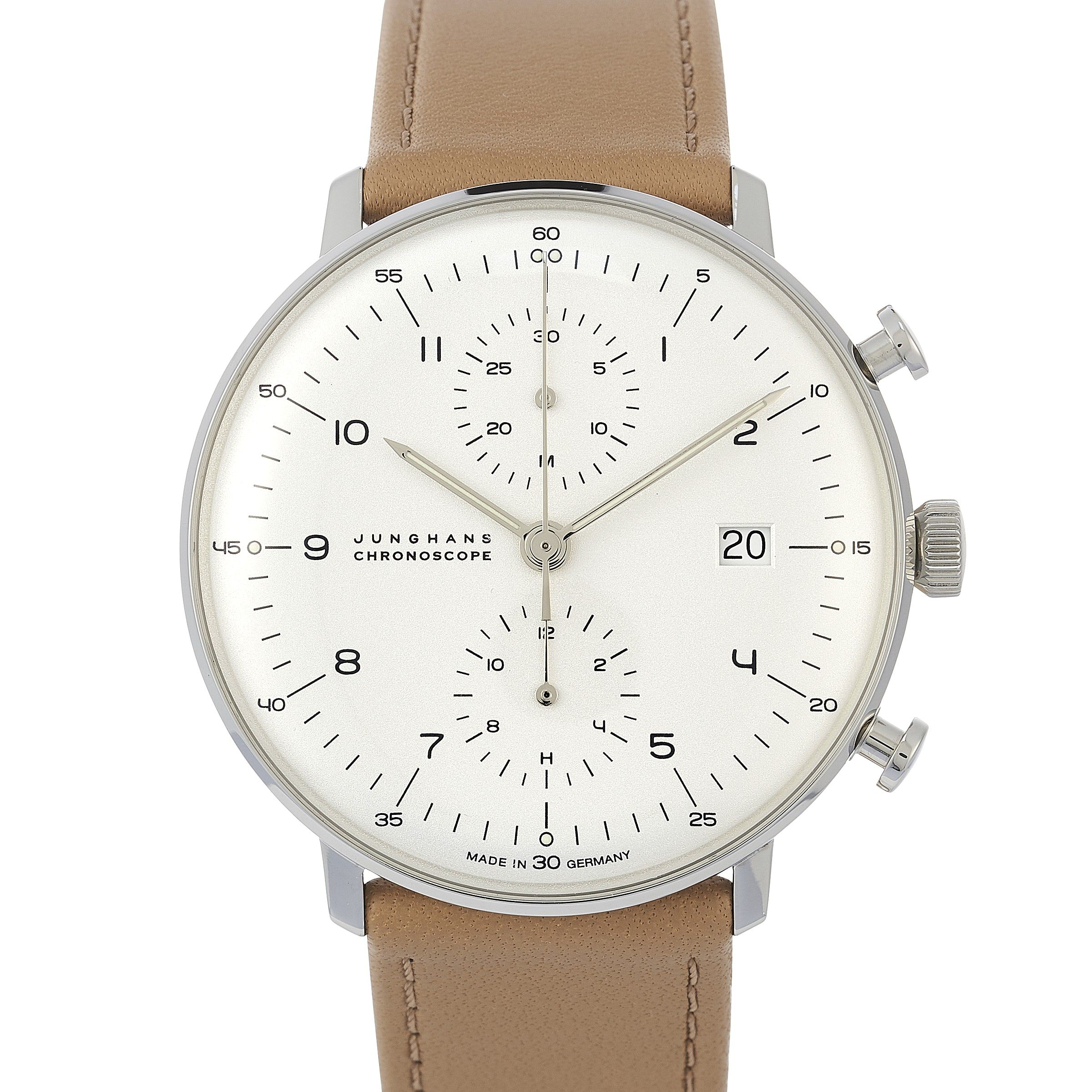 Junghans Max Bill 027 4502 00 In Stainless Steel 2020