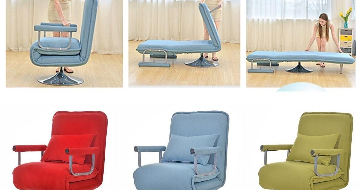 Sofa Bed Convertible Rotation Folding Arm Chair Sleeper Recliner Lounge Couch Lazy Sofa Convertible S In 2020 Folding Lounge Chair Chair Sofa Bed Convertible Sofa Bed