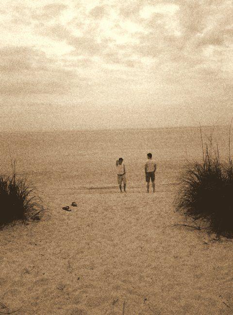 beach, nostalgic