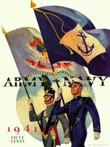 Army-Navy football game program from 1941. This year, the ...