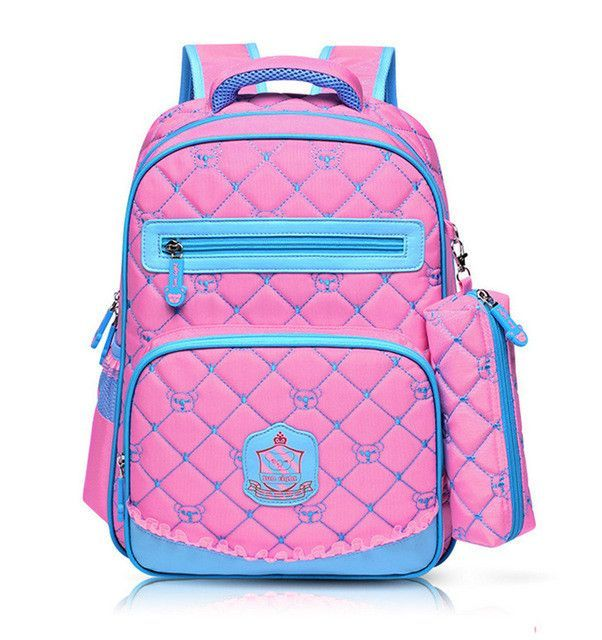 5ef7b7f55d5 Cute Girls Backpacks Kids Satchel Children School Bags For Girls ...