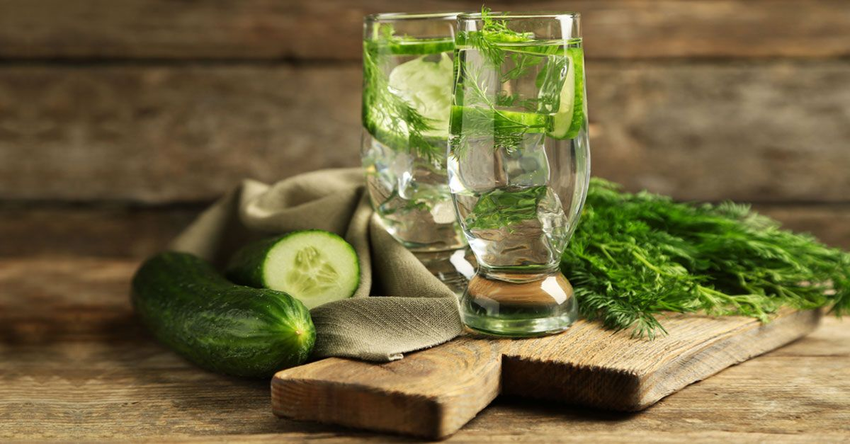 Infuse cucumber slices in a jug of water and keep sipping throughout the day. Watch the years dropping away from your face and say hi to a glowing new you!