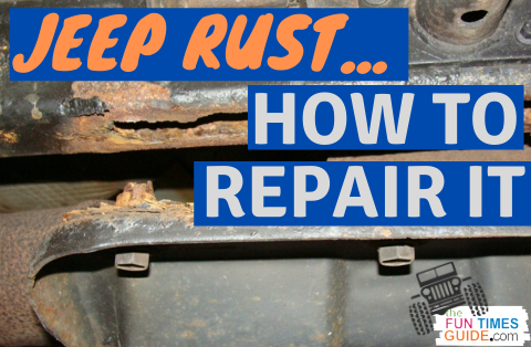 Diy Car Rust Repair How To Fix Jeep Frame Rust How To Prevent It From Happening In The First Place In 2020 Car Rust Repair Jeep Frame Jeep