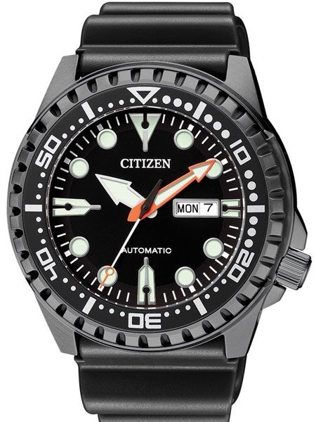 Citizen Automatic Marine Sport Watch with Rubber Dive Strap  NH8385 ... c83dff65241