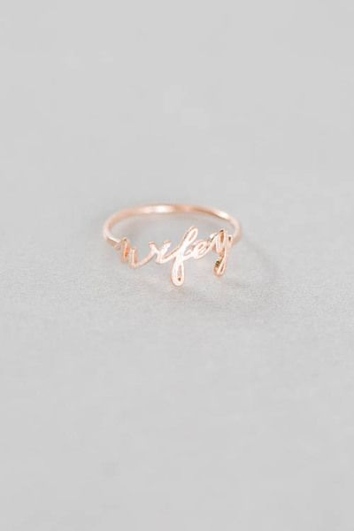 Wifey ring