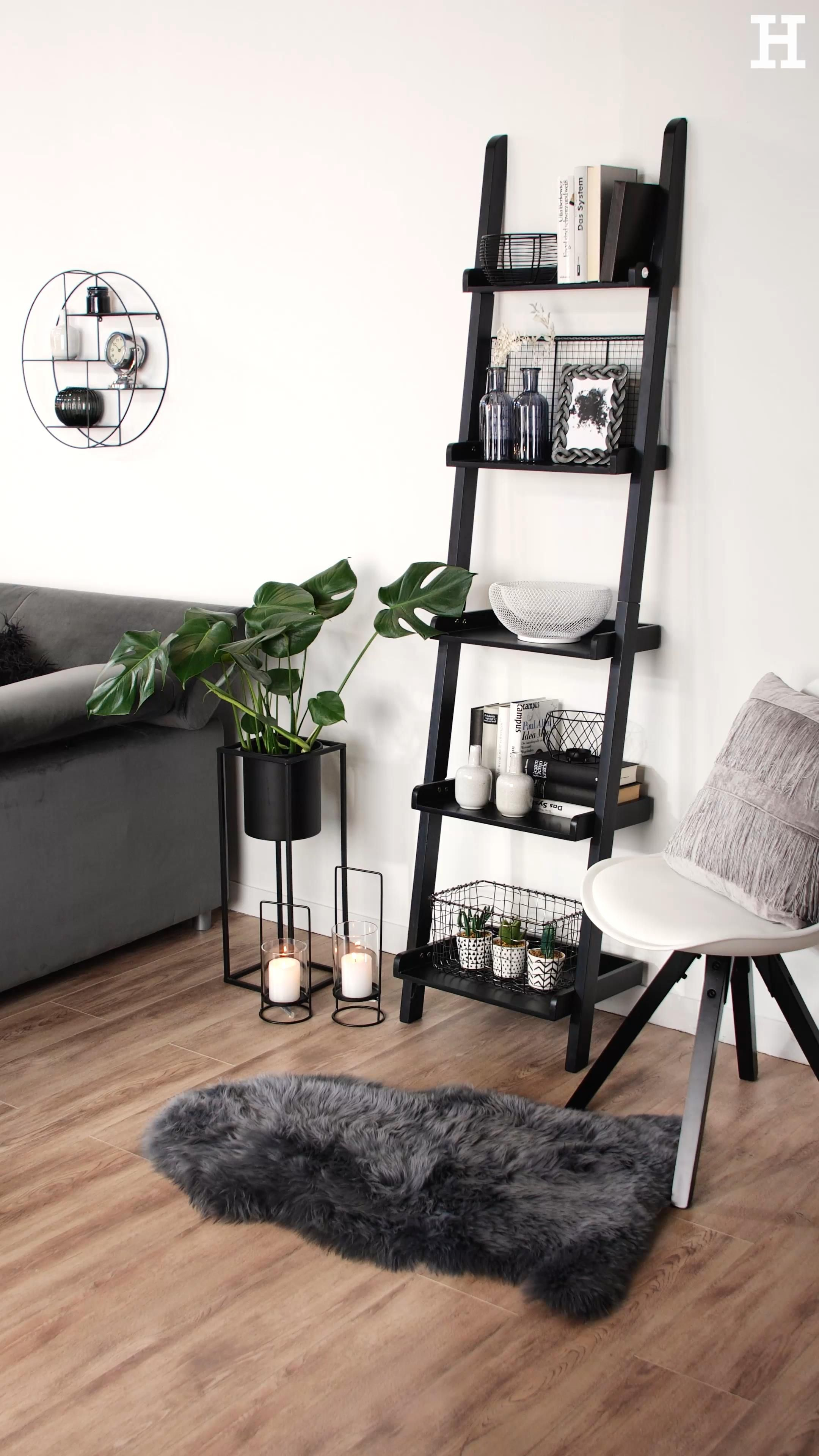 Photo of The mix of black, gray and white creates a classy and modern look