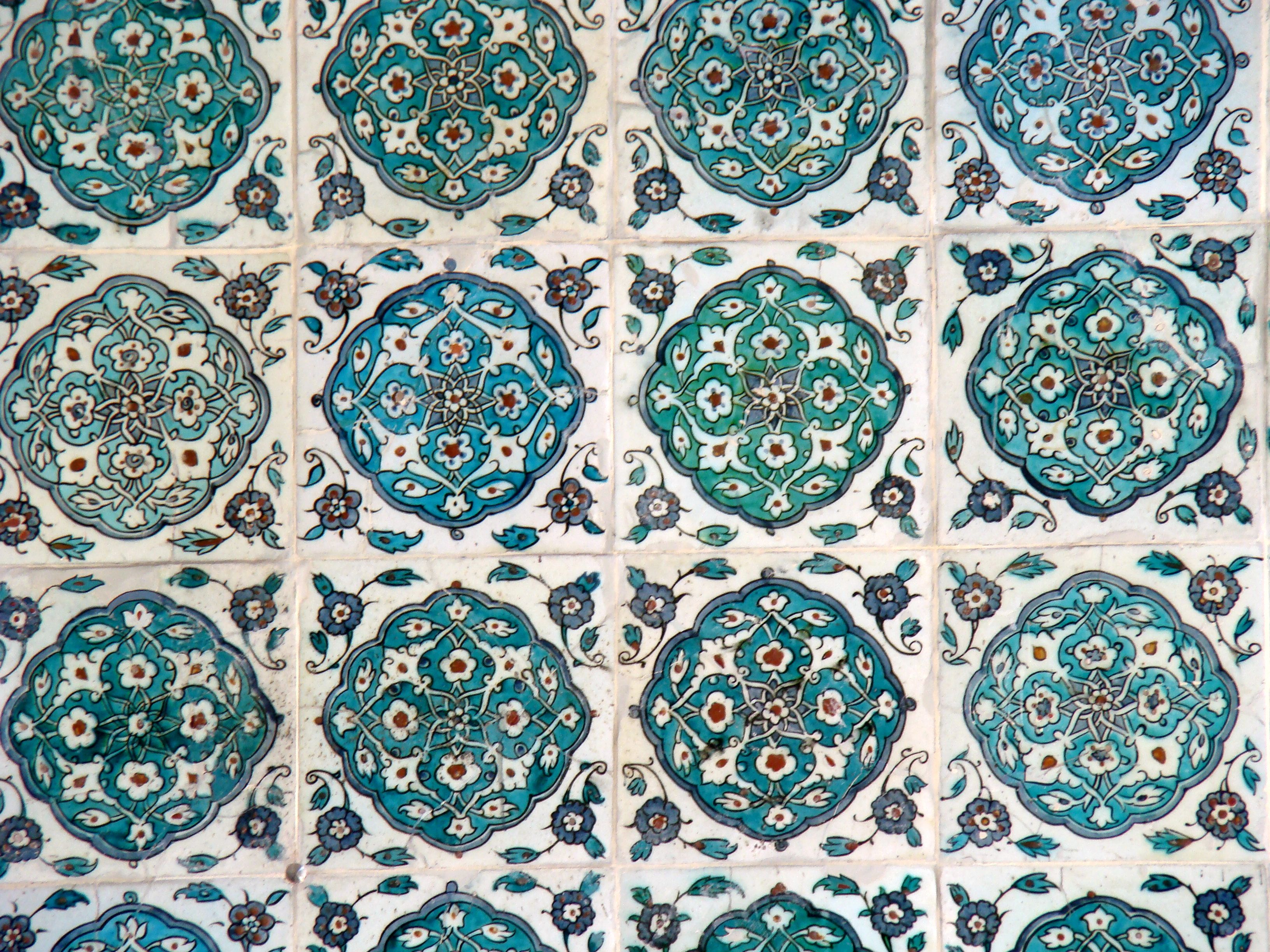 Tile Decorations Fascinating Blue Mosque Iznik Tiles  Blue Iznik Tile Decorations Topkapi Inspiration