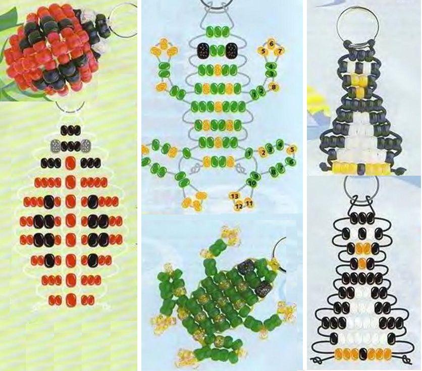 Схемы картинки для плетения бисером