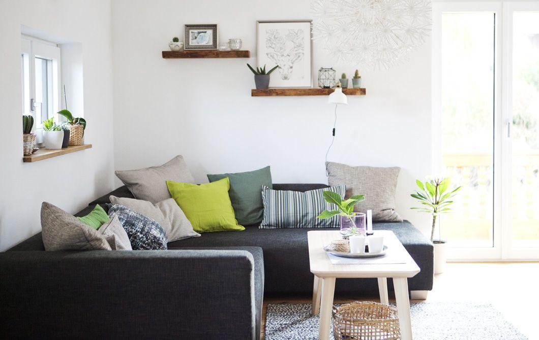 Explore A Cozy Apartment Within A Larger Family Home. Raumgestaltung WohnzimmerFarbenLeben Auf Kleinem RaumWohnungseinrichtungIkea  WohnzimmerEsszimmerIkea ...