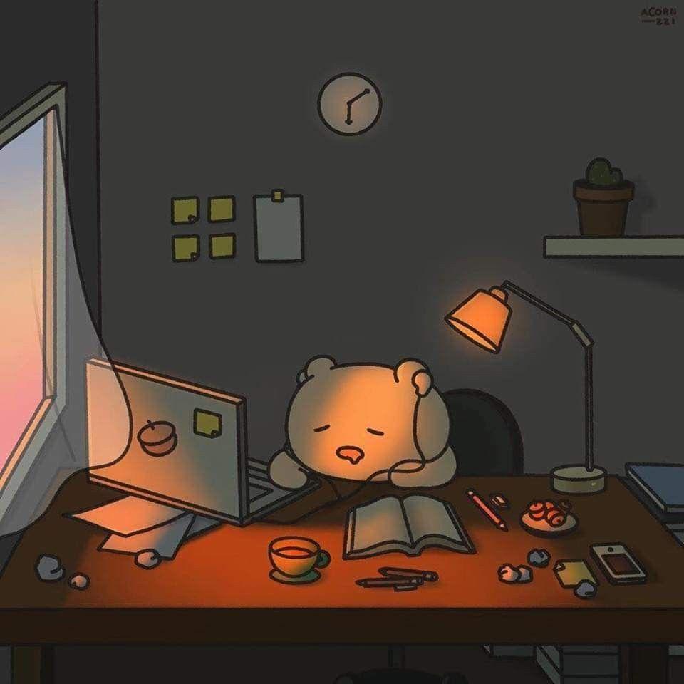 L I L L I N A Ilustrasi Karakter Wallpaper Kartun Ilustrasi Tumblr