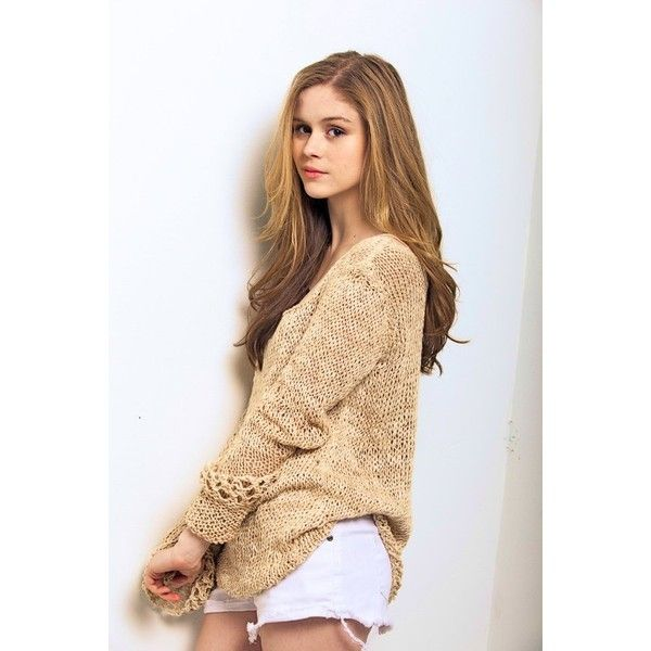 Erin Moriarty ❤ liked on Polyvore featuring people