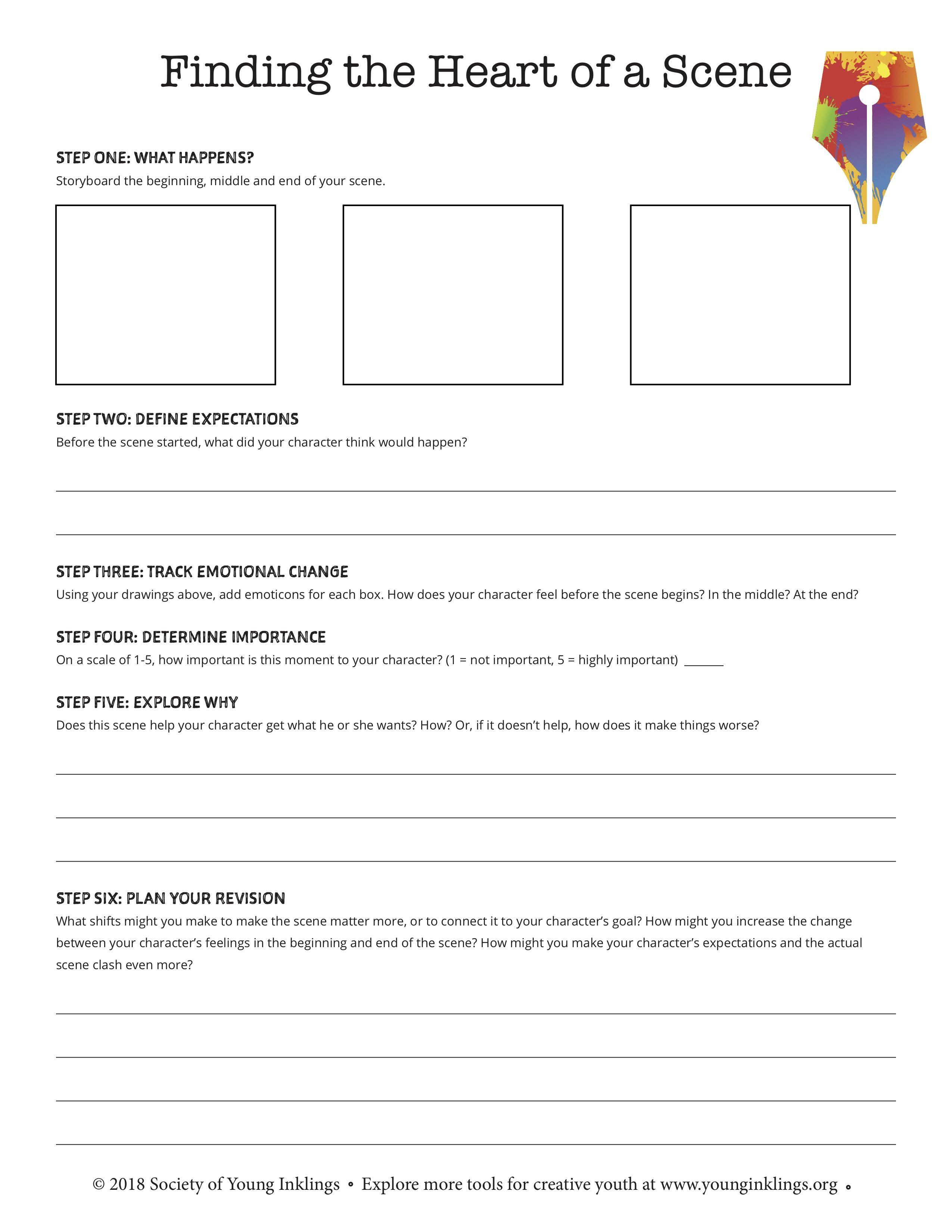 Downloadable Worksheet