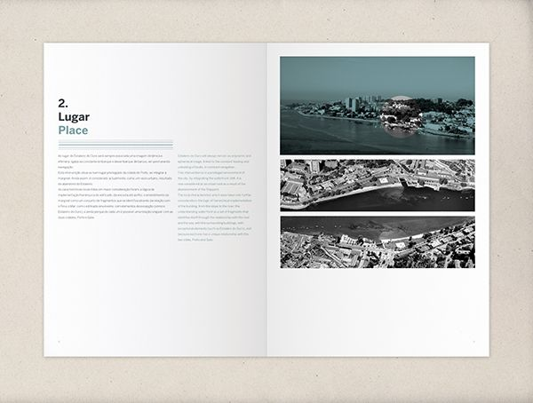 architecture portfolio by nicolau fernandes  via behance  layout