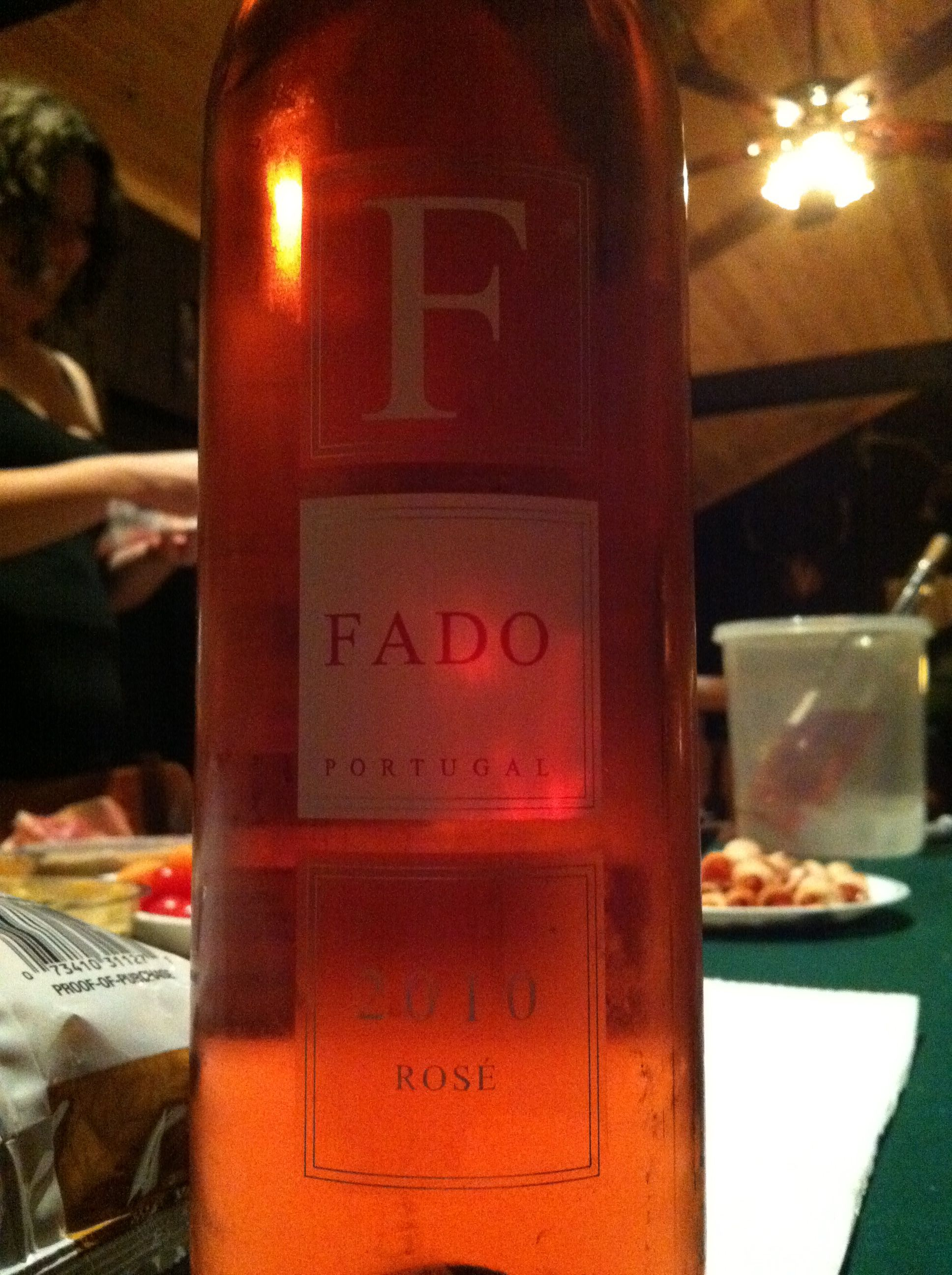 Fado Rose 2010 Wine Bottle Rose Wine Bottle Bottle