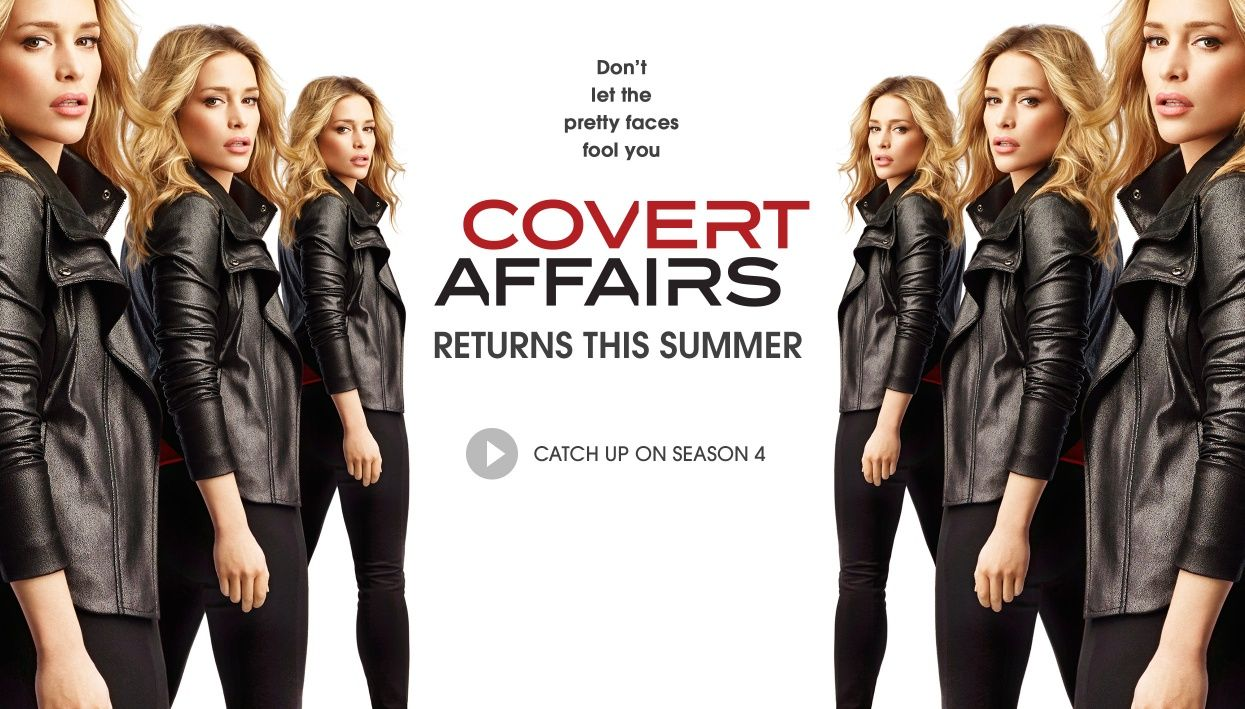 Covert affairs covert affairs summer catch pretty face