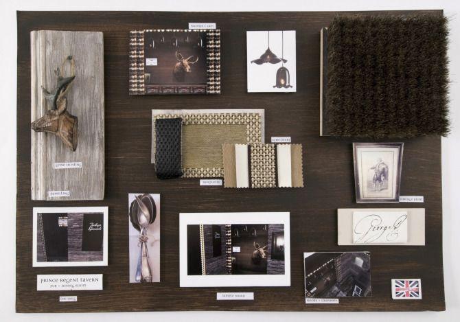 Presentation Materials Anna Burles Interior Design Art Direction Portfolio With Images Interior Design Presentation Mood Board Design Interior Presentation