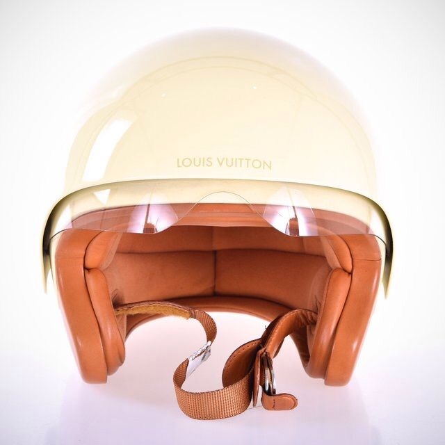 Helmet Louis Vuitton Fancy Luxury Vespa Helmet Vintage Helmet Louis Vuitton Limited Edition