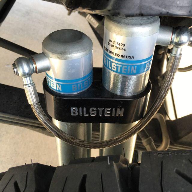 Bilstein 5160 Rear Shocks Clamps Failed Not Shocks Toyota Tundra Tundra Toyota Tundra Trd