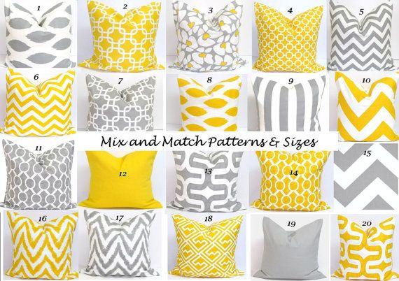 grey decorative pillow