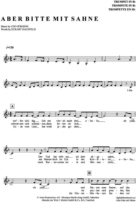 Pin auf Trompeten Noten bei notendownload