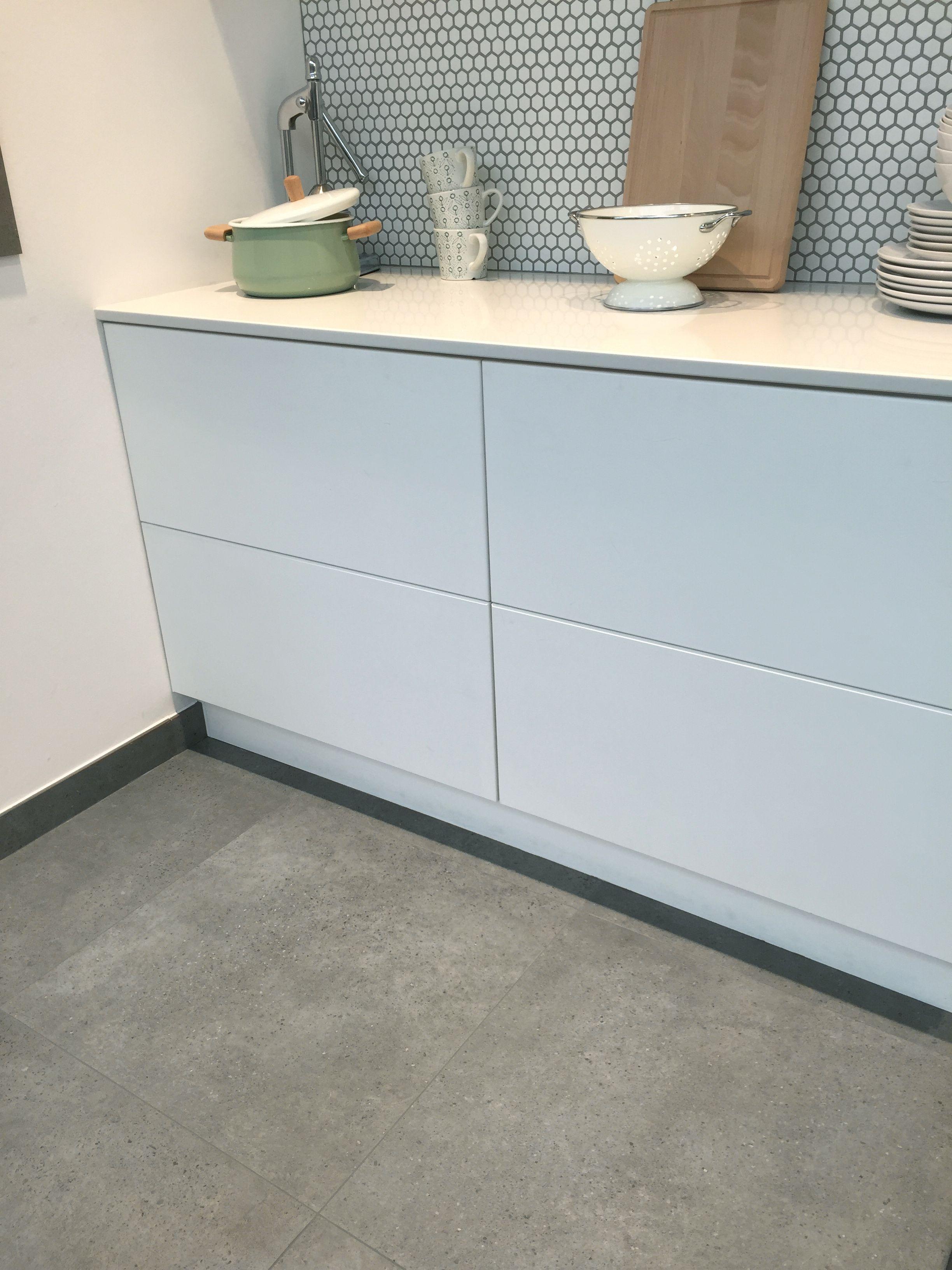 tegelvloer betonlook antraciet 100 x 100 cm woonkamer keuken
