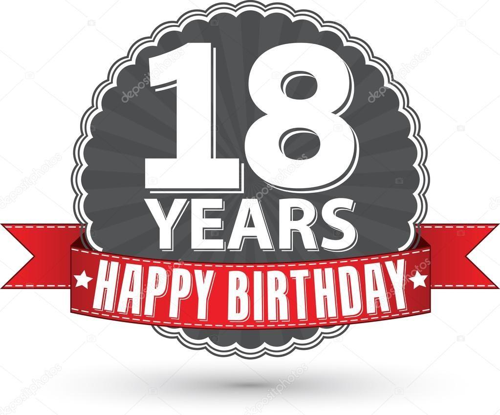grattis på födelsedagen text 18 år