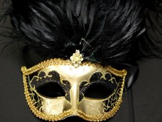 How To Decorate A Mask Captivating Black & Gold Venetian Mask  A Wonderful Way To Decorate The Review