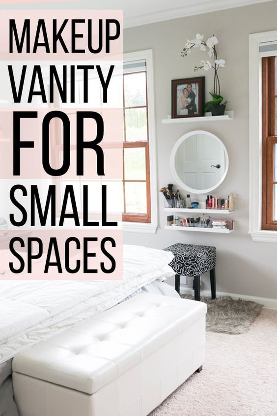 Makeup Vanity For Small Spaces & Bedrooms images