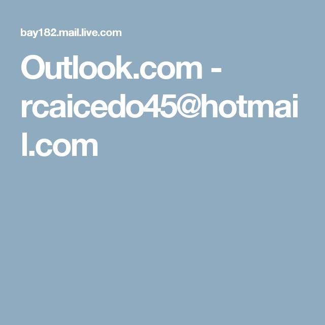 Com hotmai Hotmail