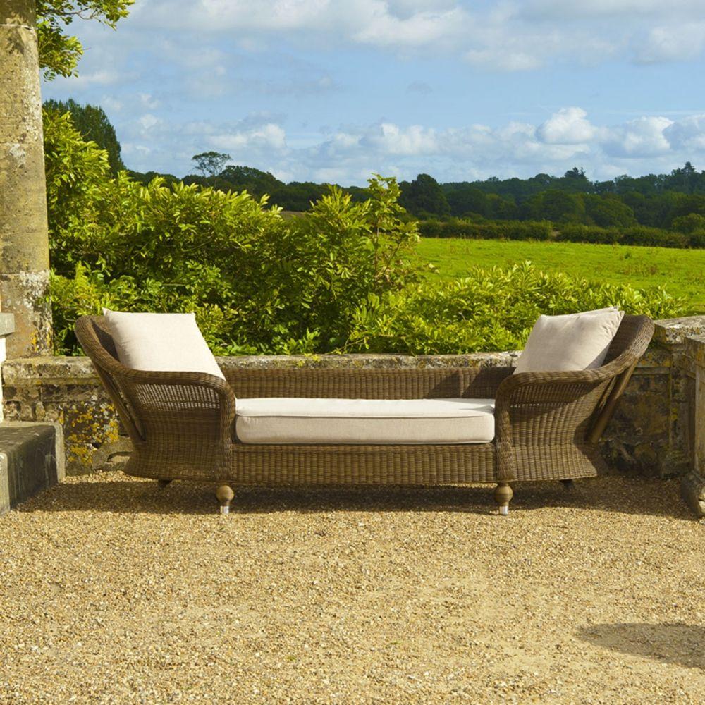 Canape De Jardin En Pin Haut De Gamme Par Alexander Rose Canape Jardin Meubles De Jardin En Rotin Chaise Exterieur