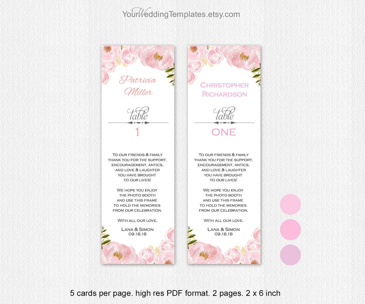 Pink| Photo booth frame insert| Photo booth insert template| You ...
