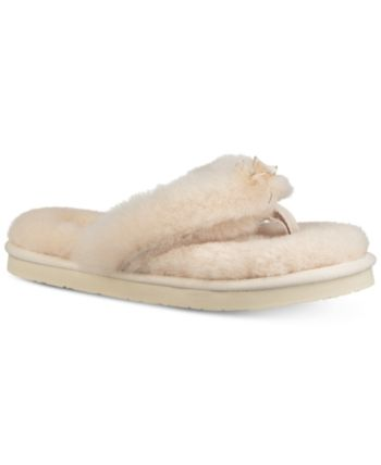 a1333762e7b Ugg Women's Fluff Flip-Flop Iii Slippers - Gray 5 in 2019   Products ...